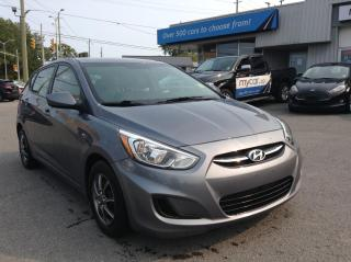 Used 2017 Hyundai Accent GL HEATED SEATS, BLUETOOTH!! for sale in Richmond, ON