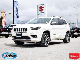 Used 2019 Jeep Cherokee Overland 4x4 ~Nav ~Cam ~Leather ~Panoramic Roof for sale in Barrie, ON