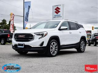 Used 2020 GMC Terrain SLT AWD ~Nav ~Cam ~Heated Leather ~Panoramic Roof for sale in Barrie, ON