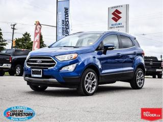 Used 2019 Ford EcoSport Titanium AWD ~Nav ~Cam ~Heated Leather ~Moonroof for sale in Barrie, ON