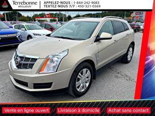Used 2010 Cadillac SRX V6 3.0L 4X4*PREMIUM*TOIT PANO*PNEUS HIVER SUR MAGS for sale in Terrebonne, QC