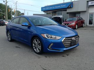 Used 2017 Hyundai Elantra Limited LEATHER, SUNROOF, NAV, HEATED SEATS!! for sale in Kingston, ON
