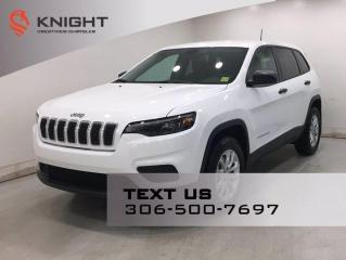 New 2021 Jeep Cherokee SPORT 4X4 V6 for sale in Regina, SK