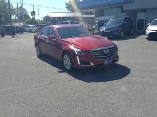 Used 2015 Cadillac CTS 3.6L Luxury LEATHER, PANOROOF, V6, AWD!! for sale in North Bay, ON