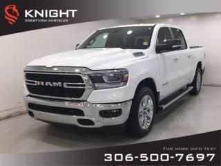 Used 2019 RAM 1500 Big Horn Crew Cab | Heated Seats and Steering Wheel | Navigation | for sale in Regina, SK