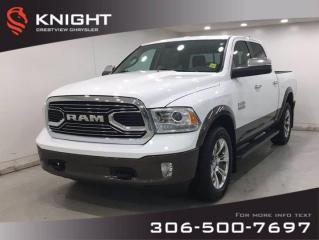 Used 2018 RAM 1500 Longhorn Special Edition Crew Cab for sale in Regina, SK