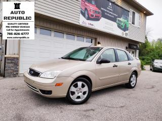 Used 2007 Ford Focus SES for sale in Orillia, ON