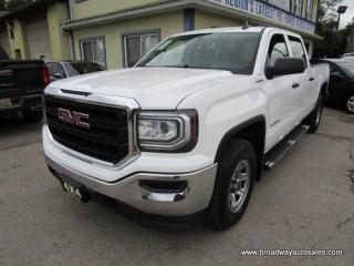 Used 2016 GMC Sierra 1500 WORK READY SL EDITION 6 PASSENGER 5.3L - VORTEC.. 4X4 SYSTEM.. CREW-CAB.. SHORTY.. TOW SUPPORT.. TRAILER BRAKE.. CD/AUX/USB INPUT.. KEYLESS ENTRY.. for sale in Bradford, ON