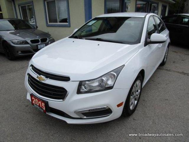 2015 Chevrolet Cruze GAS SAVING 1-LT EDITION 5 PASSENGER 1.4L - TURBO.. TOUCH SCREEN.. CD/AUX/USB INPUT.. BACK-UP CAMERA.. BLUETOOTH SYSTEM.. KEYLESS ENTRY..