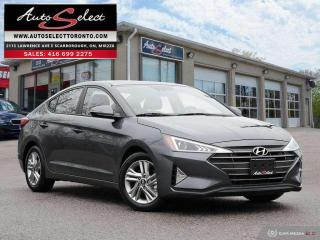 Used 2019 Hyundai Elantra Preferred w/Sun & Safety Package ONLY 43K! **SUNROOF**BACK-UP CAMERA**CLN CARPROOF* for sale in Scarborough, ON