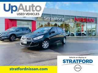 Used 2012 Hyundai Accent GLS|EXTREMLY WELL MAINTAINED! NO ACCIDENTS REPORTED CARFAX CANADA for sale in Stratford, ON
