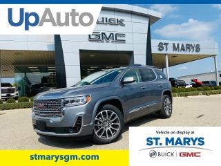 New 2021 GMC Acadia Denali AWD for sale in St. Marys, ON