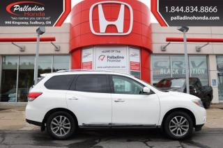 Used 2014 Nissan Pathfinder CERTIFIED-LOW KM-LOADED for sale in Sudbury, ON