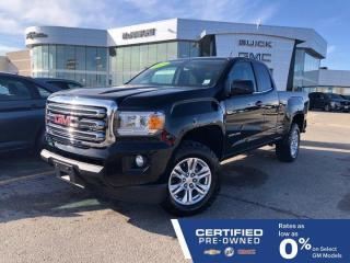 Used 2019 GMC Canyon 4x4 Extended Cab | Heated Seats & Steering Wheel for sale in Winnipeg, MB