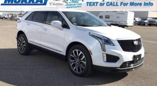 New 2021 Cadillac XT5 AWD Sport for sale in Brandon, MB