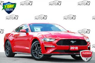 Used 2018 Ford Mustang EcoBoost Premium 2.3L ECOBOOST | 6-SPEED MANUAL | NAVIGATION for sale in Kitchener, ON