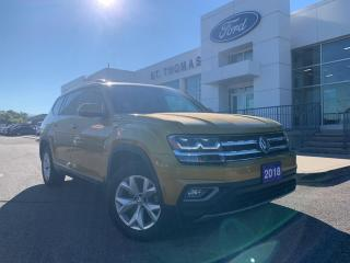 Used 2018 Volkswagen Atlas 3.6 FSI Highline Atlas Highline AWD/Navi/Leather/Roof for sale in St Thomas, ON