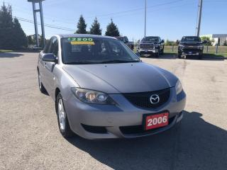 Used 2006 Mazda MAZDA3 GX BEING SOLD AS IS for sale in Grimsby, ON