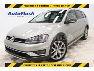 Used 2017 Volkswagen Golf Alltrack HIGHLINE  4MOTION *CAMERA/GPS *ADAPTIVE-CRUISE for sale in St-Hubert, QC