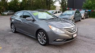 Used 2014 Hyundai Sonata Limited **SUNROOF / NAV / CAMERA / LEATHER*** for sale in Mississauga, ON