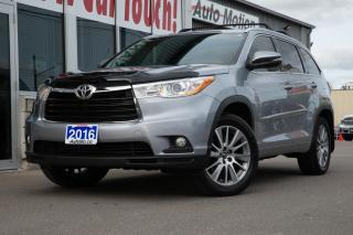 Used 2016 Toyota Highlander BACKUP CAM - HEATED/PWR SEATS - SUNROOF - 3RD ROW for sale in Chatham, ON