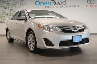 Used 2013 Toyota Camry 4-door Sedan LE for sale in Richmond, BC