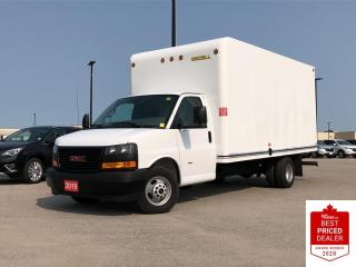 Used 2019 GMC Savana Cutaway Work Van CUBE VAN 6.0L AUTO CLOTH SEATS for sale in Orillia, ON