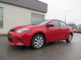 Used 2015 Toyota Corolla LE AUTOMATIQUE A/C CAMERA SIÉGES CHAUFF. for sale in St-Eustache, QC