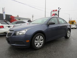 Used 2014 Chevrolet Cruze AUTOMATIQUE AIR CLIMATISE **SEULEMENT 14,000KM** for sale in St-Eustache, QC