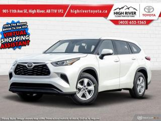 New 2020 Toyota Highlander LE for sale in High River, AB
