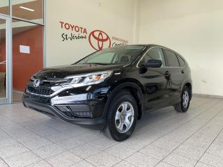 Used 2016 Honda CR-V * LX * CAMÉRA * JAMAIS ACCIDENTÉ * for sale in Mirabel, QC