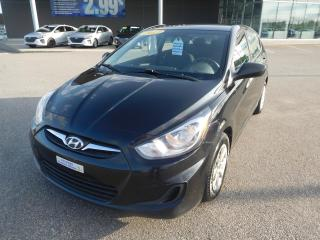 Used 2013 Hyundai Accent 5dr HB Auto GL,A/C,CRUISE,SIEGES CHAUFFANTS for sale in Mirabel, QC
