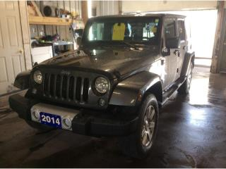 Used 2014 Jeep Wrangler Unlimited Sahara for sale in Sarnia, ON