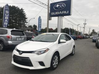 Used 2016 Toyota Corolla LE berline 4 portes CVT for sale in Victoriaville, QC