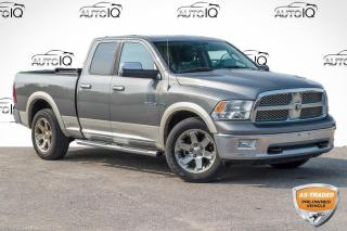 Used 2010 Dodge Ram 1500 Laramie ONE OWNER|LEATHER|HEATED SEATS AND WHEEL for sale in Barrie, ON