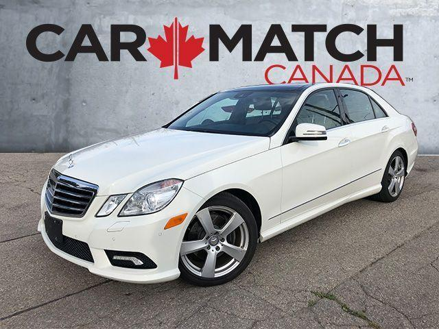 2010 Mercedes-Benz E-Class E350 / NO ACCIDENTS / AWD / NAV