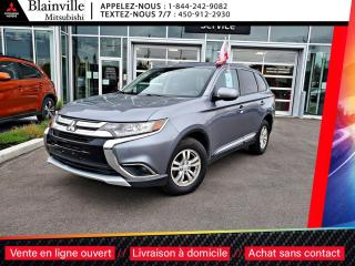 Used 2017 Mitsubishi Outlander ES AWC 4X4 CLIM + MAGS + BLUTOOTH + CRUISE for sale in Blainville, QC