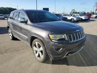 Used 2016 Jeep Grand Cherokee Overland Diesel, PANO Sunroof, NAV, Air Suspension!!! for sale in Ingersoll, ON