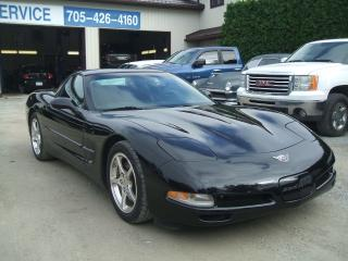Used 2003 Chevrolet Corvette 50th Anniversary, Glass Top, 6 speed, Only 3687 km for sale in Beaverton, ON