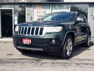Used 2011 Jeep Grand Cherokee 4WD 4Dr Limited for sale in Bowmanville, ON