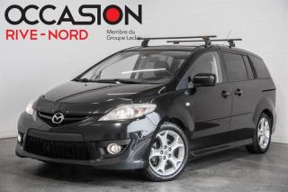 Used 2008 Mazda MAZDA5 Automatique 6 PASSAGERS for sale in Boisbriand, QC
