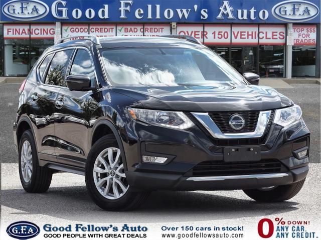 2018 Nissan Rogue SV MODEL, PAN ROOF, 360° CAMERA, HEATED SEATS, AWD