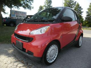 Used 2010 Smart fortwo Pure for sale in Ajax, ON