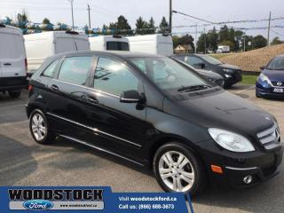 Used 2009 Mercedes-Benz B-Class Base for sale in Woodstock, ON