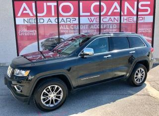 Used 2016 Jeep Grand Cherokee LIMITED-ALL CREDIT ACCEPTED for sale in Toronto, ON