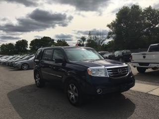 Used 2013 Honda Pilot Touring. LEATHER-DVD PLAYER-SUNROOF. EXCELLENT for sale in London, ON