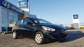 Used 2017 Hyundai Accent 5DR HB AUTO GL for sale in Matane, QC