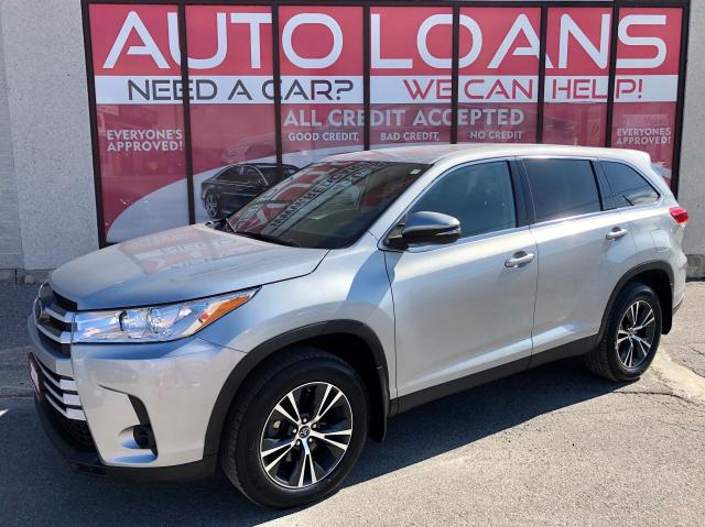 2019 Toyota Highlander LE-ALL CREDIT ACCPETED