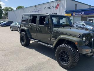 Used 2015 Jeep Wrangler Sahara for sale in Aylmer, ON