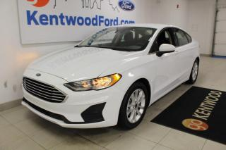 Used 2019 Ford Fusion 3 MONTH DEFERRAL! *oac | SE | Heated Cloth Buckets | Back UP Camera for sale in Edmonton, AB